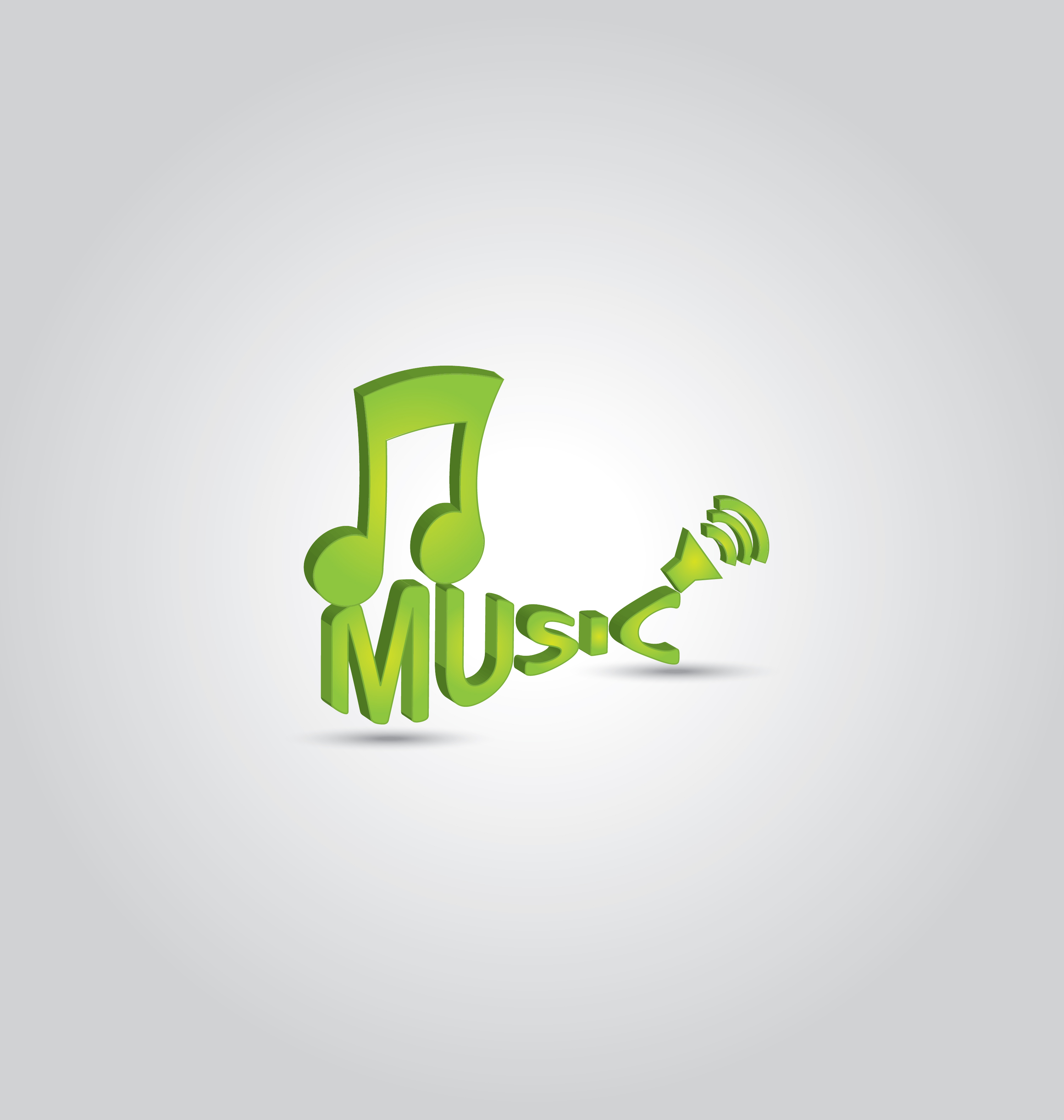 3D music note 2