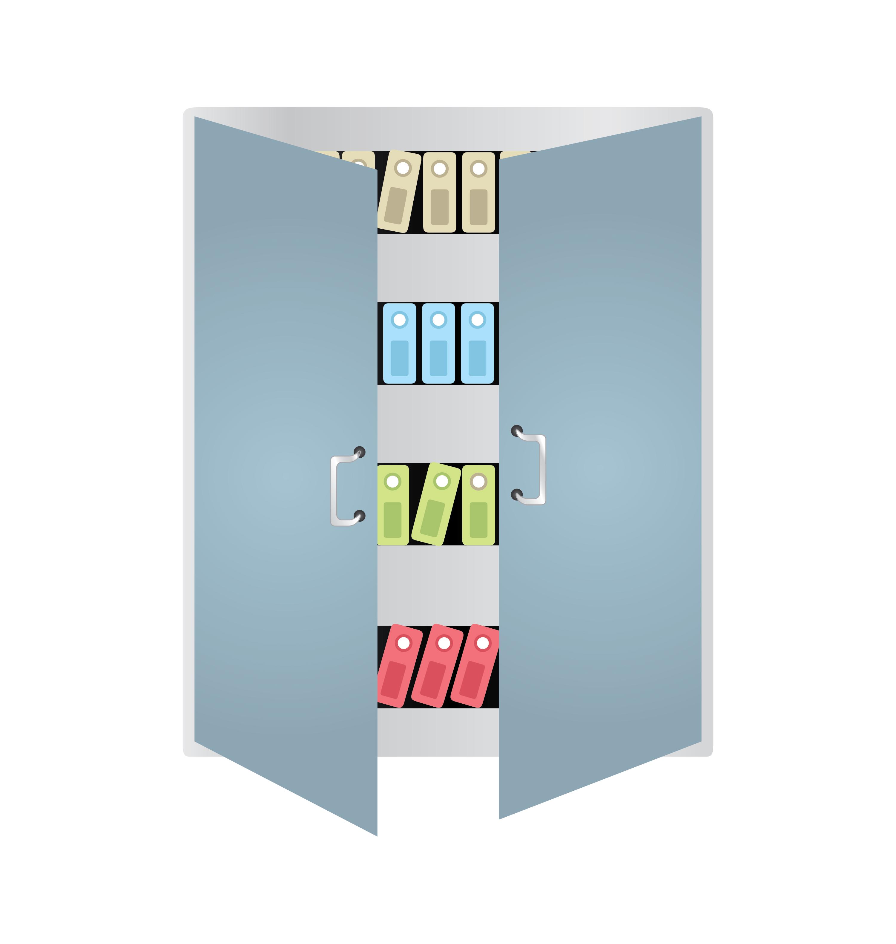 Books Locker Vector