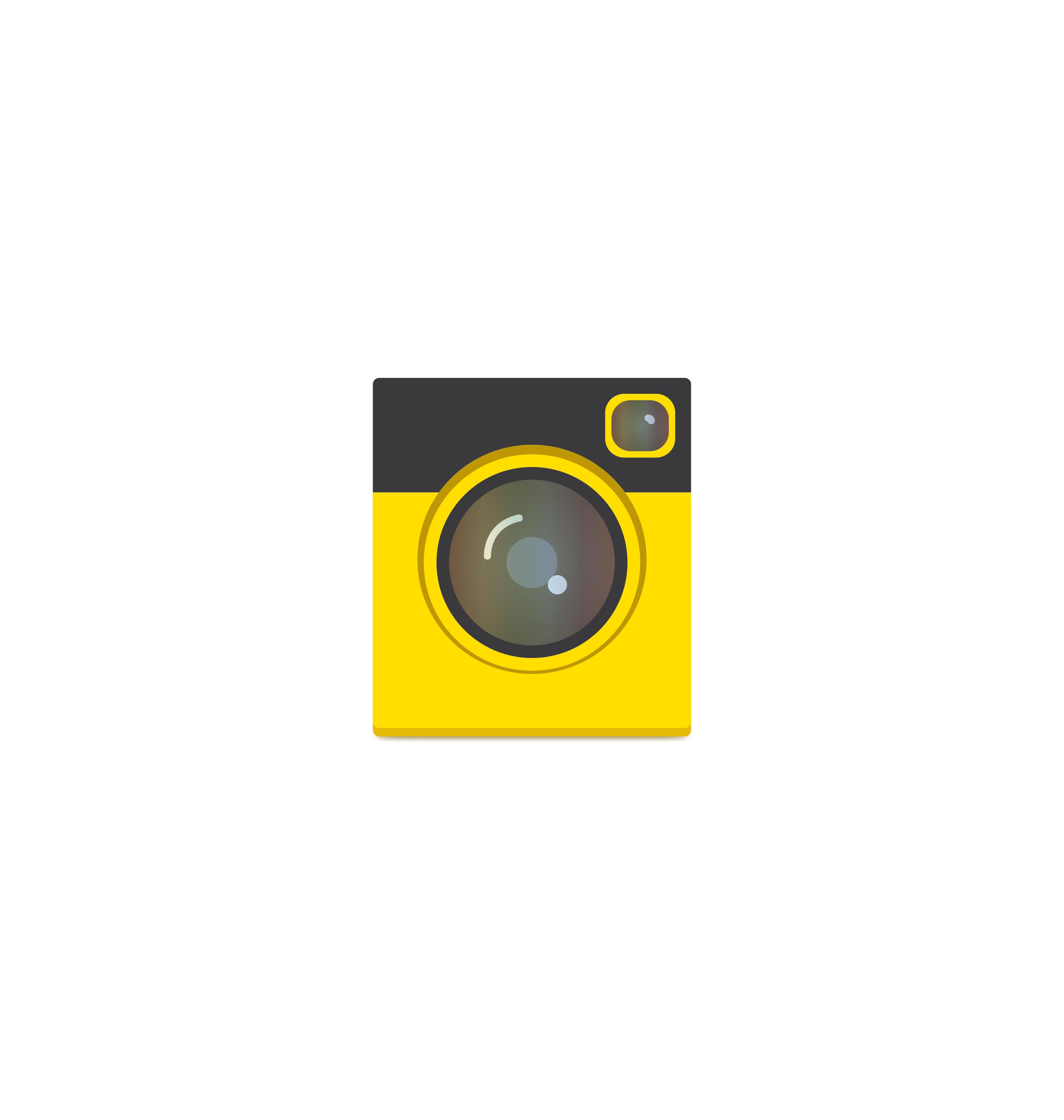 Camera icon vector 11