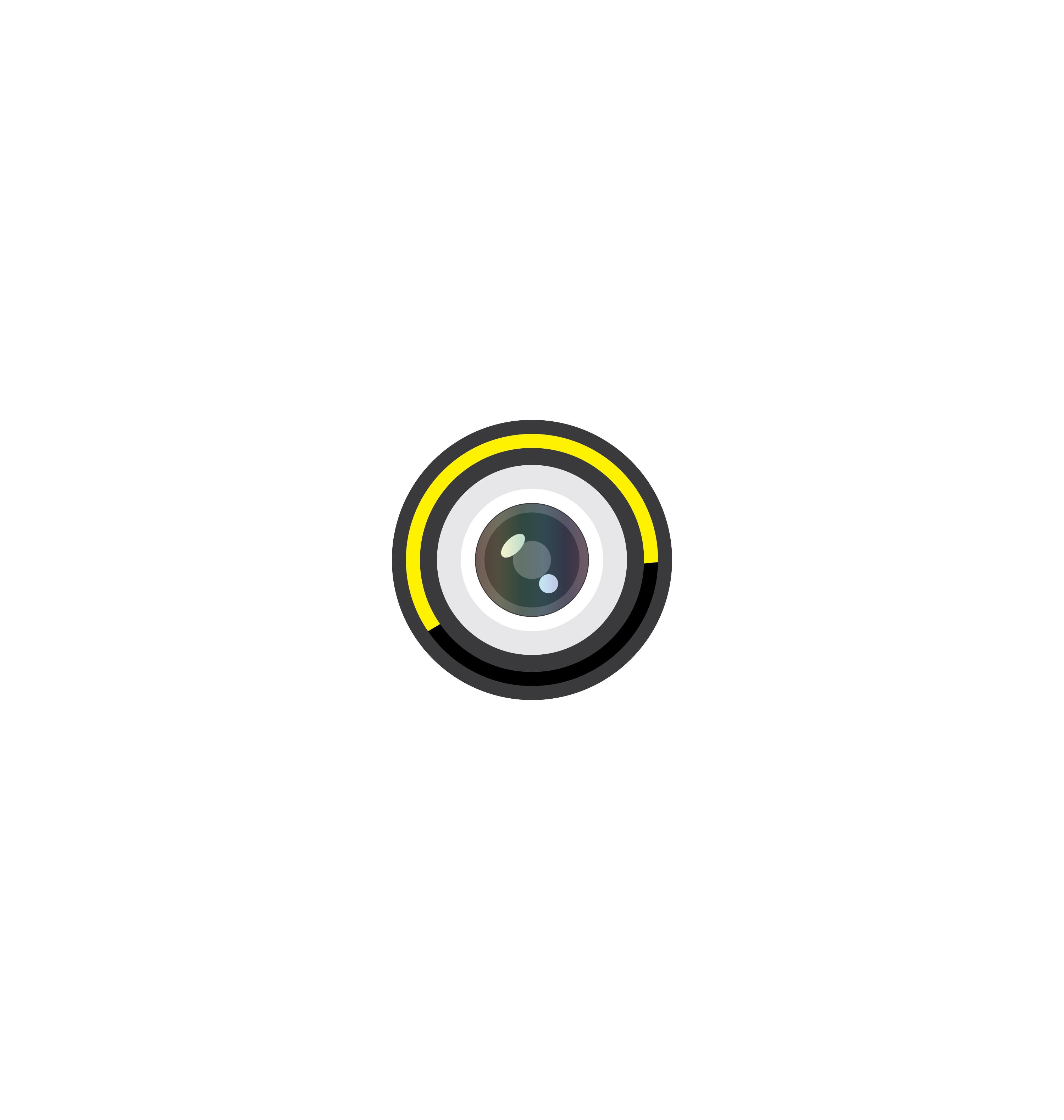 Camera icon vector 2