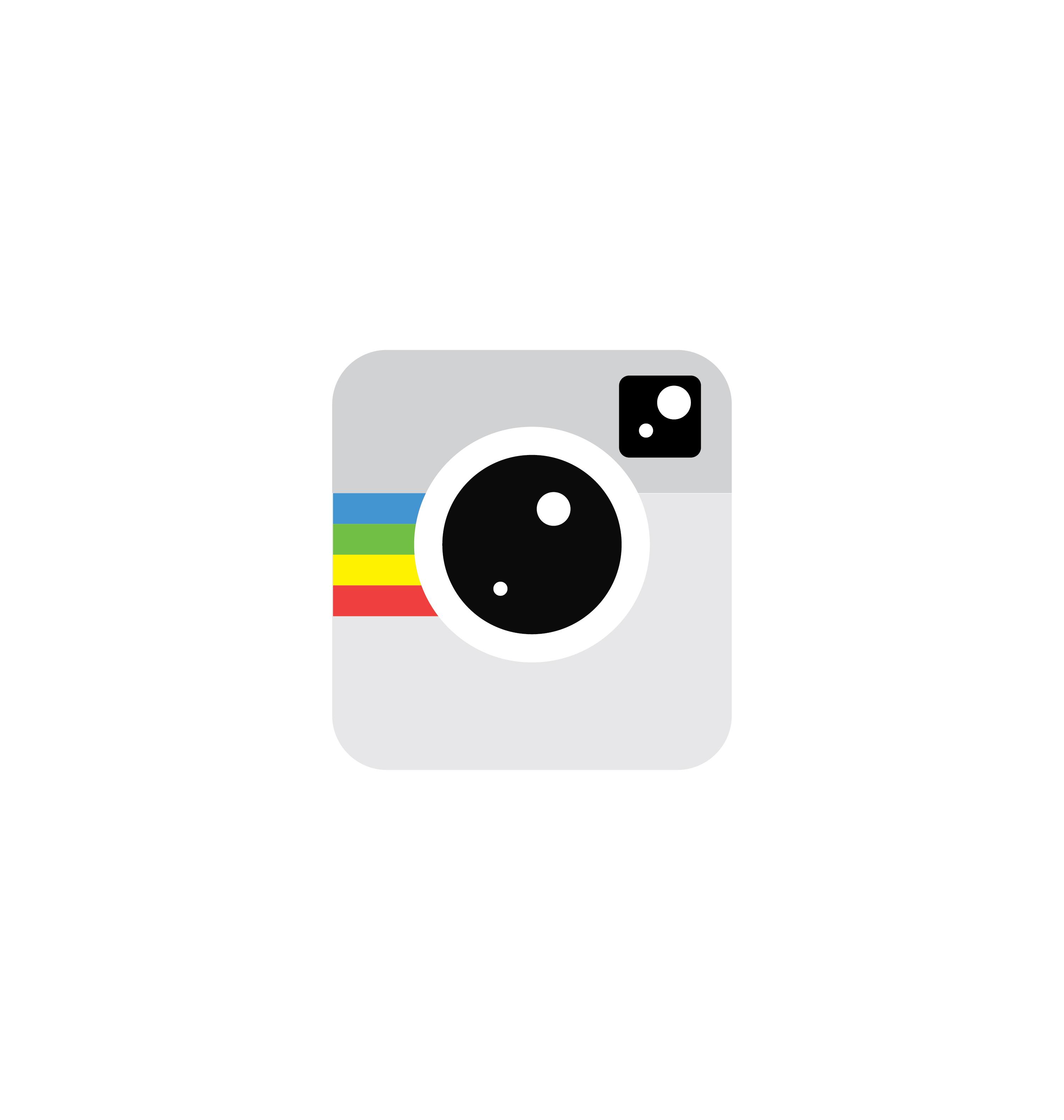 Camera icon vector 3