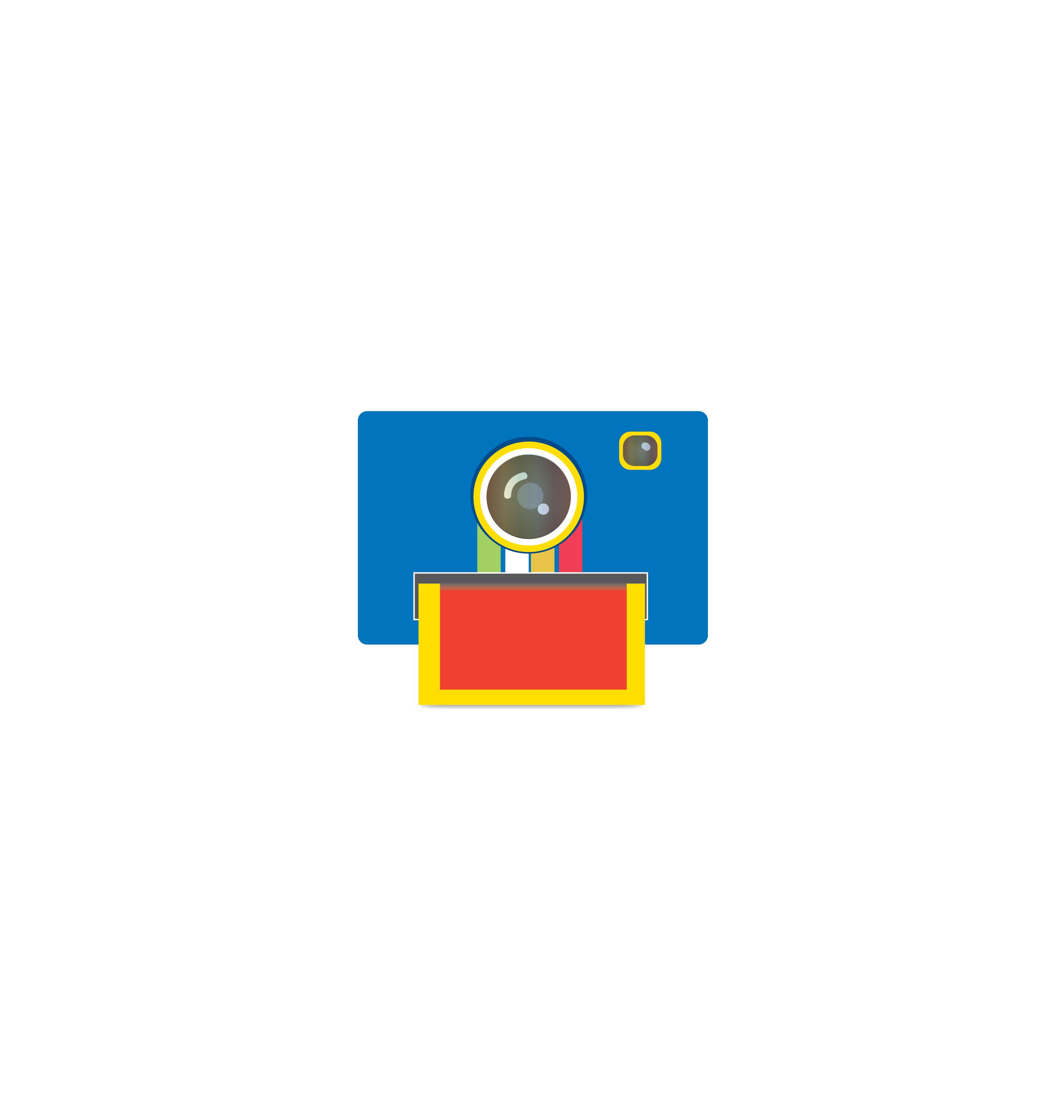 Camera icon vector 5