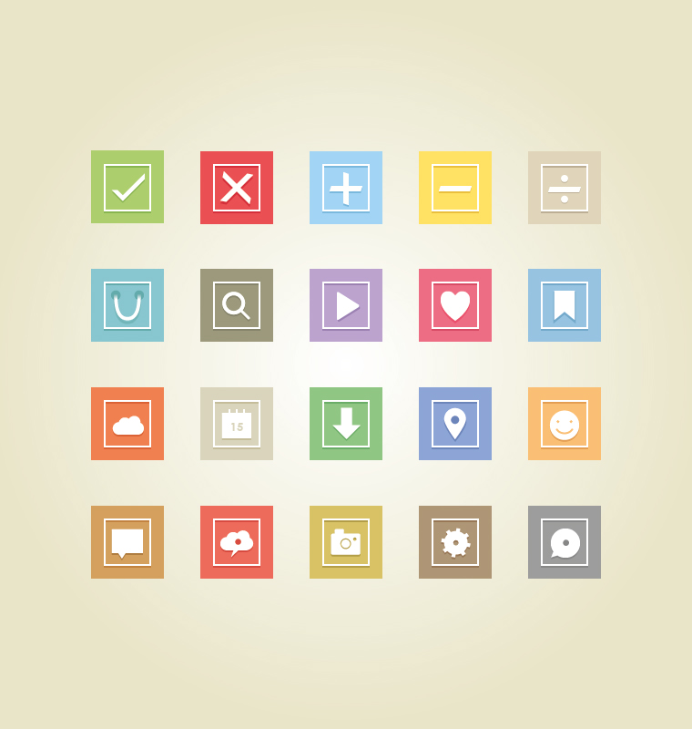 basic web icons 2