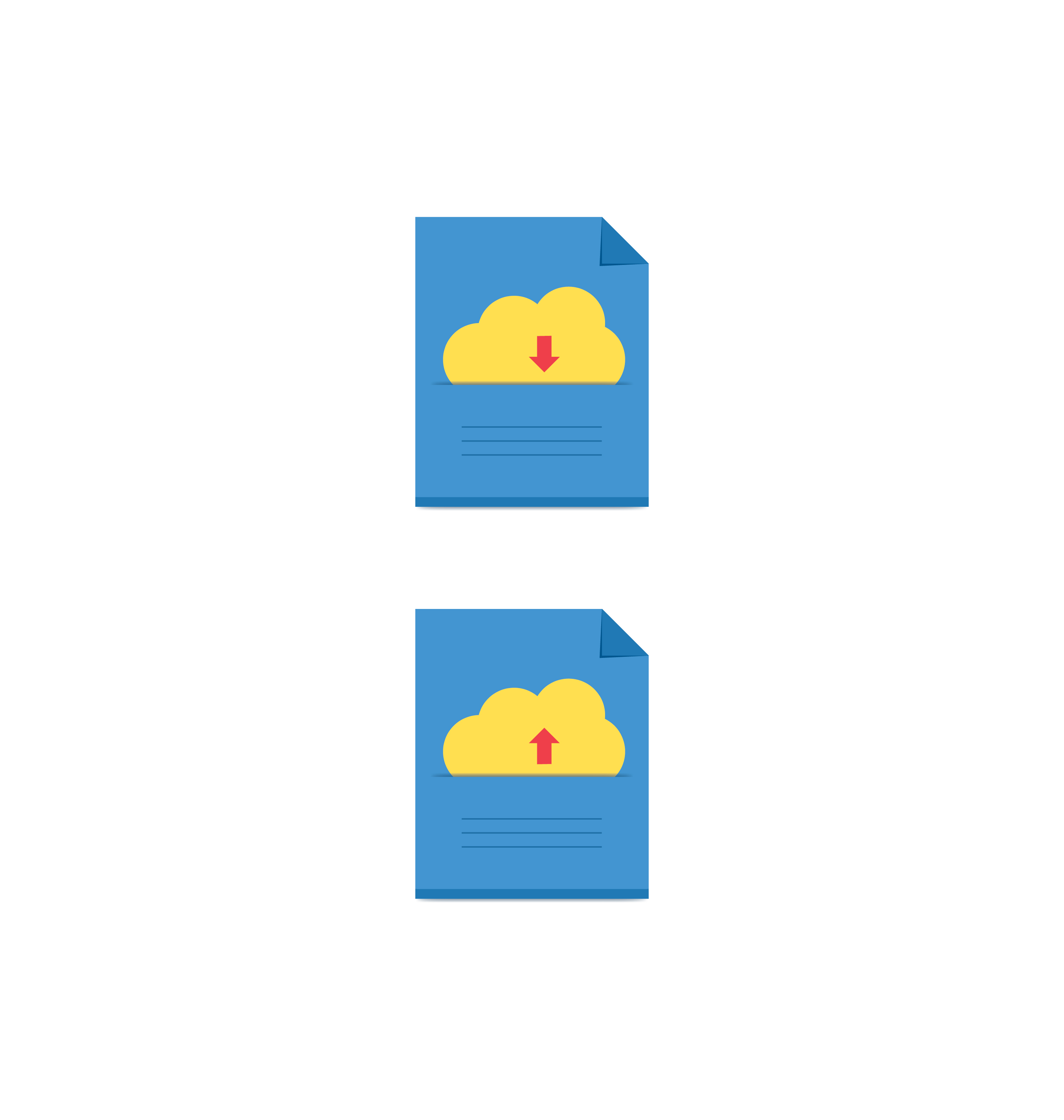 cloud download and upload icon 11
