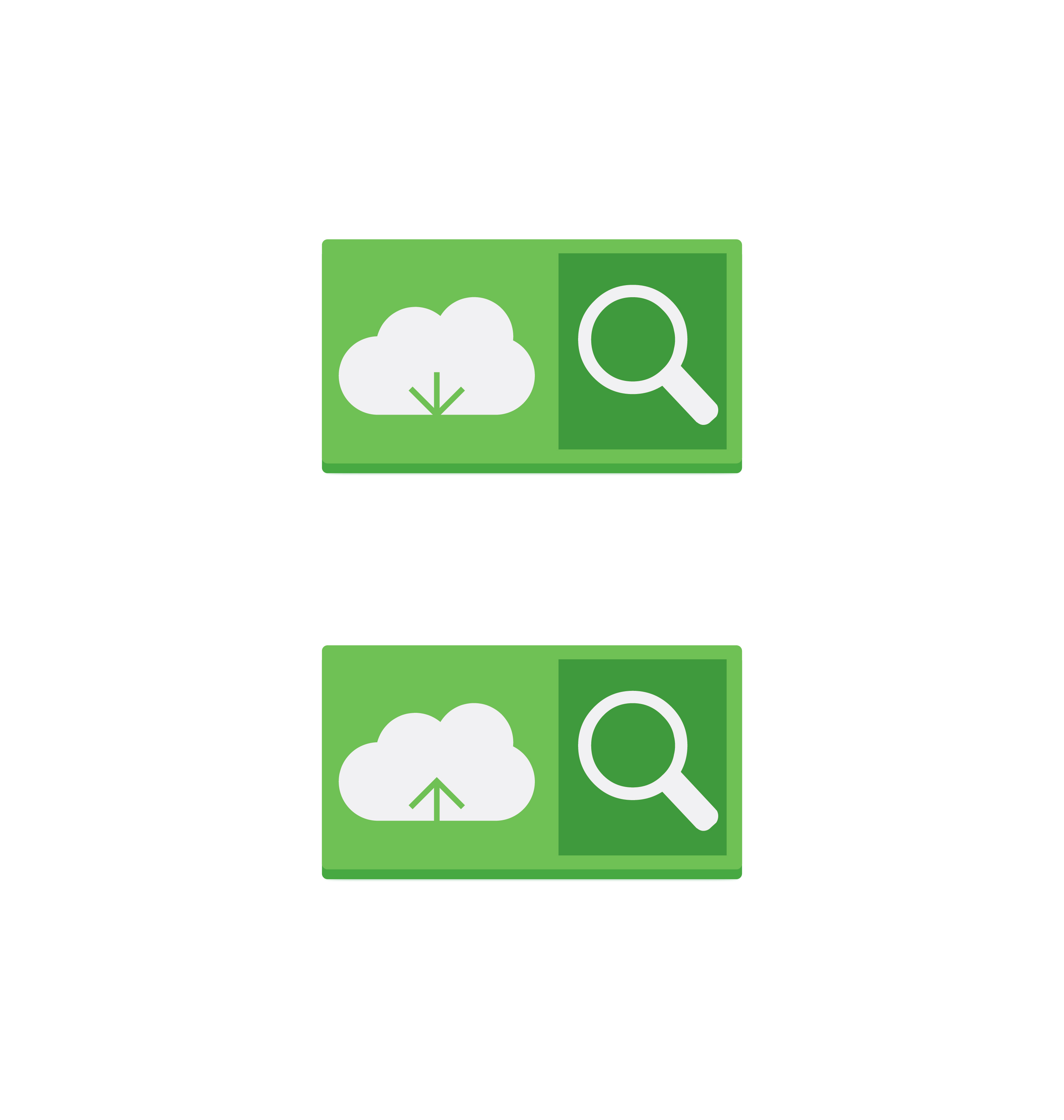 cloud download and upload icon 5