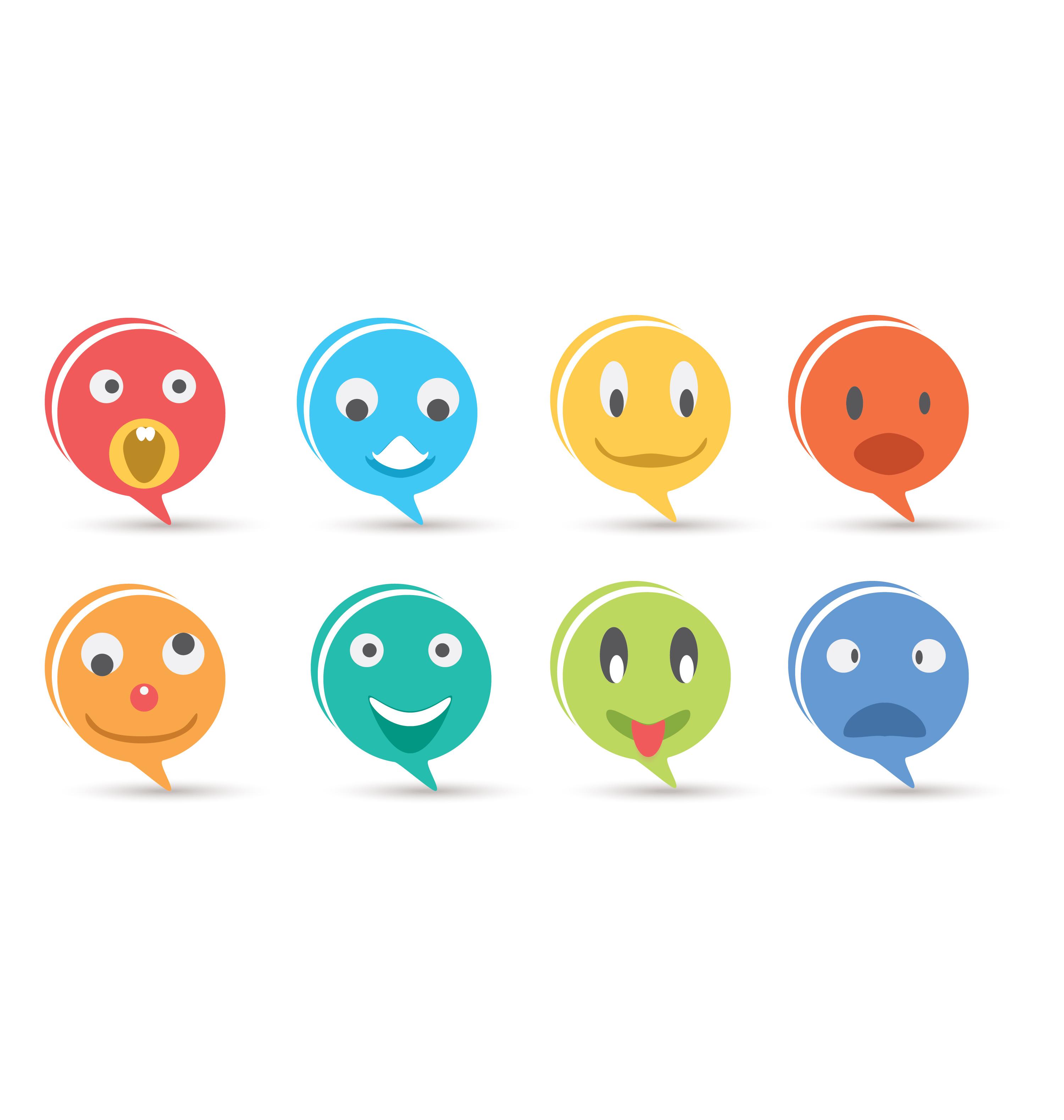 emoji icons vector