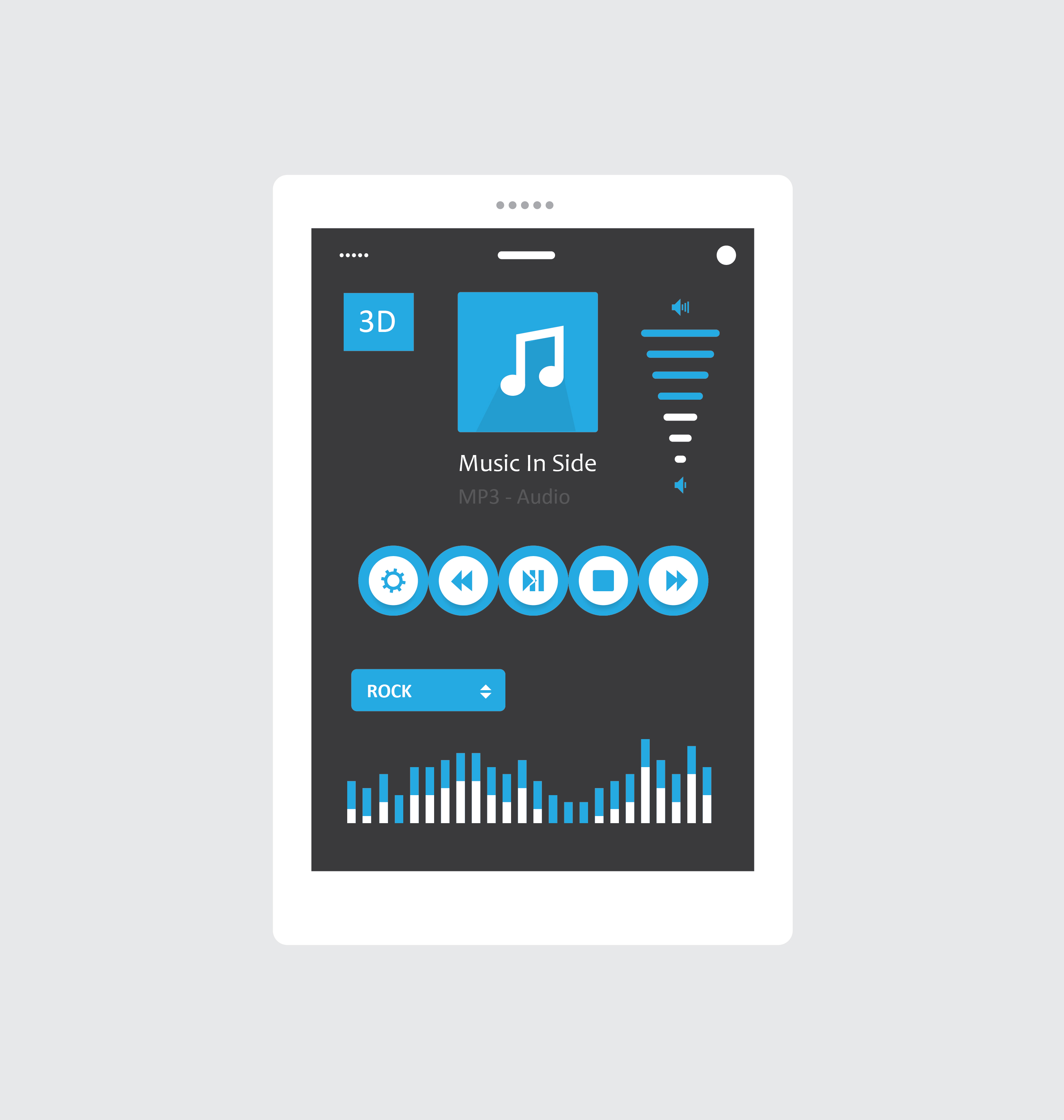 Tablet Music Player